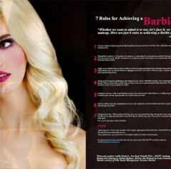 barbie look 1